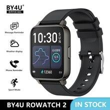 2021 Nieuwe Smartwatch 1.69 Inch Full Touch Smart Horloge Mannen Vrouwen Waterdicht Fitness Armband Klok Voor Apple Xiaomi Huawei