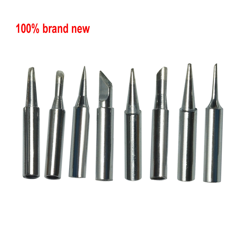 Lead free Solder Iron Tip <font><b>900M</b></font>-<font><b>T</b></font>-<font><b>0.8D</b></font>/1.2D/1.6D/2.4D/3.2D/I/K/SK/B/SI/1C/2C/3C/4C/5C Welding Head Screwdriver For Soldering Tool image