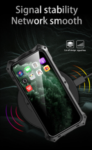 Image 4 - Case For iPhone 11 Pro Max Military Waterproof Dustproof Outdoor Activities Full Protection Soft Silicone Cover XR XS MAX Shell