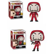 Funko pop La casa de papel Tokio 741# The Professor Denver Berlin 743# Figure Toys Collection model toy