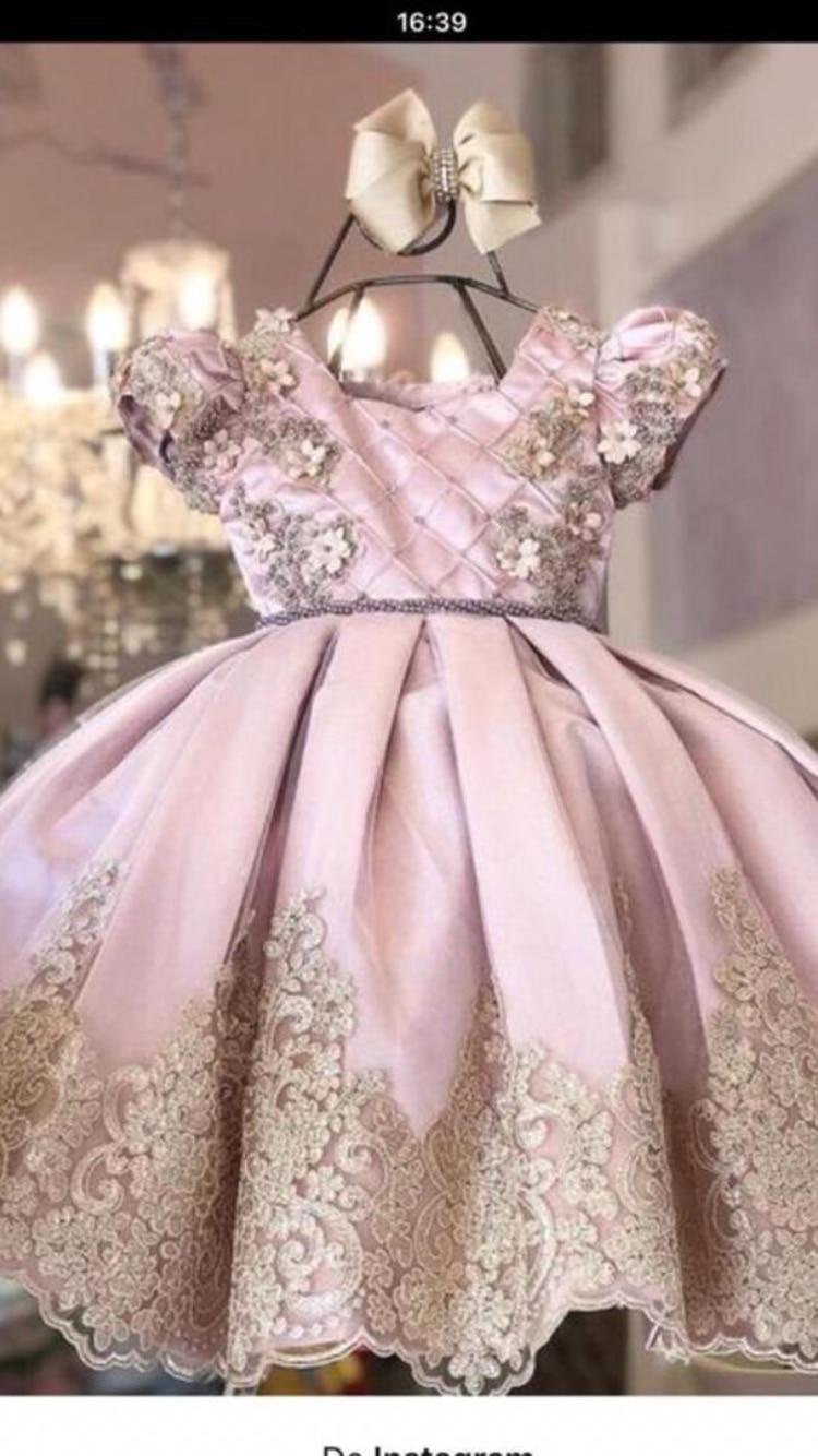 Pink Ball Gown Girl Dress 2020 Girl Dresses Lace Flower Girl Dresses