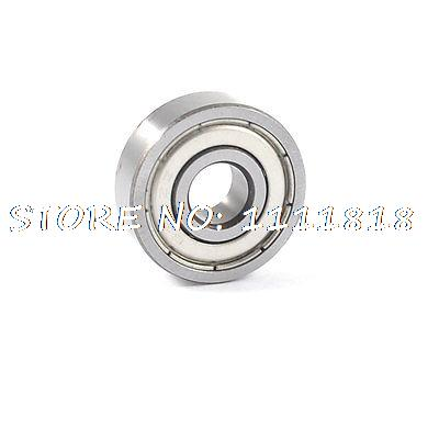 628ZZ Metal Skateboard Sealed Deep Groove Ball Bearing 23mm X 9mm X 6mm