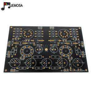 Image 5 - DIY projeleri ses tek uçlu amplifikatörler kurulu 185*125 FR4 PCB kartı EL34 kurulu ücretsiz kargo