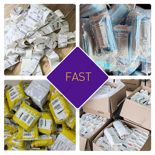 100pcs Fast delivery Face Mask Disposable Nonwove 3 Layer Mouth Face maskes Filter Safe Breathable Dustproof Protective Masks 1