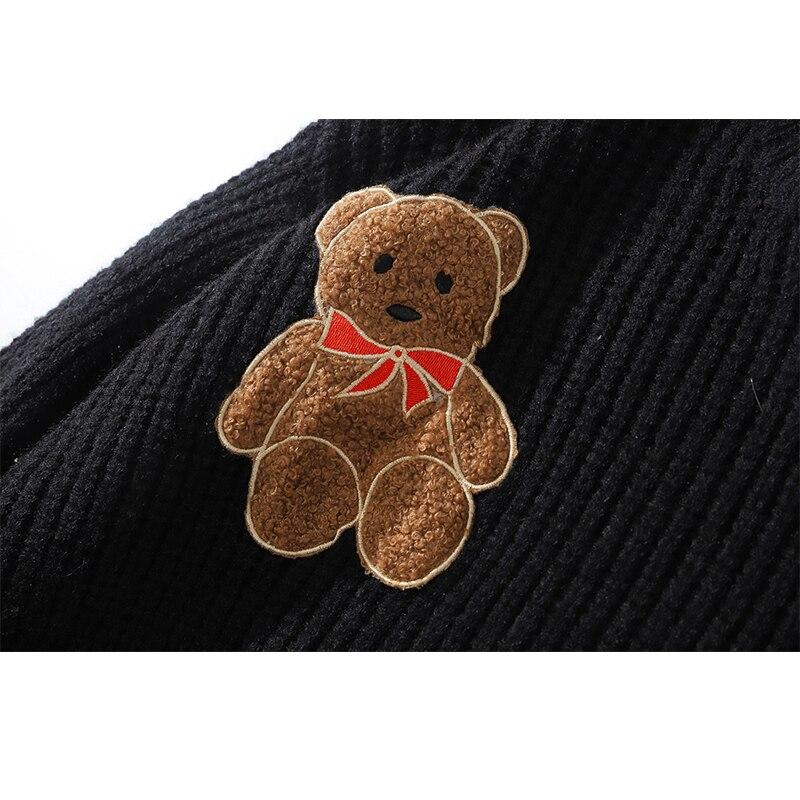Купить женский вязаный свитер jing zhe теплый пуловер оверсайз в стиле