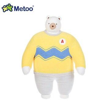 Мягкая плюшевая игрушка мультяшные животные Metoo 6