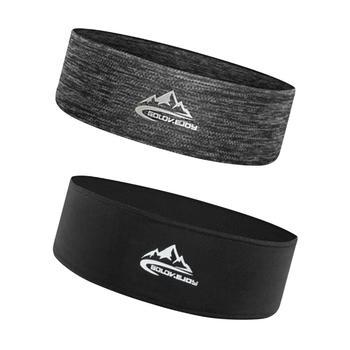 Opaska dla mężczyzn kobiety elastyczne sportowe opaski do włosów opaska na głowę opaski do jogi nakrycia głowy opaski sportowe akcesoria do włosów opaski bezpieczeństwa tanie i dobre opinie CN (pochodzenie) Cienkie Outdoor Sports Headband