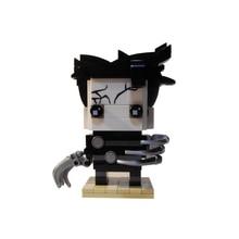 цена на Edward Scissorhands Film Movie Cartoon heroes Action Figure Building Blocks Bricks Kids Gift Toys model
