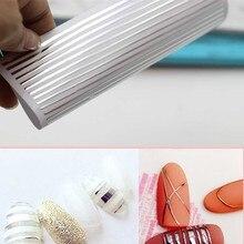 1 peça rosa ouro prata 3d etiqueta do prego curva listra linhas unhas adesivos adesivo fita striping arte do prego adesivos decalques