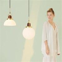 Nordic Post nowoczesne  minimalistyczne lampy wiszące Deco domu sypialnia lampki nocne lampa wisząca jadalnia Bar restauracja kuchnia lampy wiszące w Wiszące lampki od Lampy i oświetlenie na