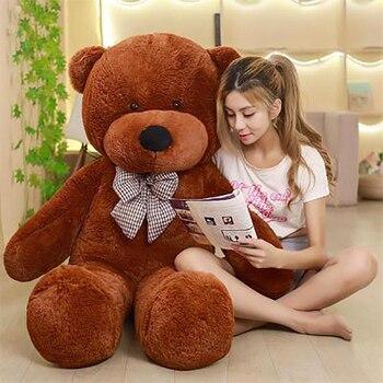 Kids Toy Cartoon Teddy Bear Plush Toys 35/60cm Stuffed Plush Animals Bear Doll Birthday Christmas Gift For Children