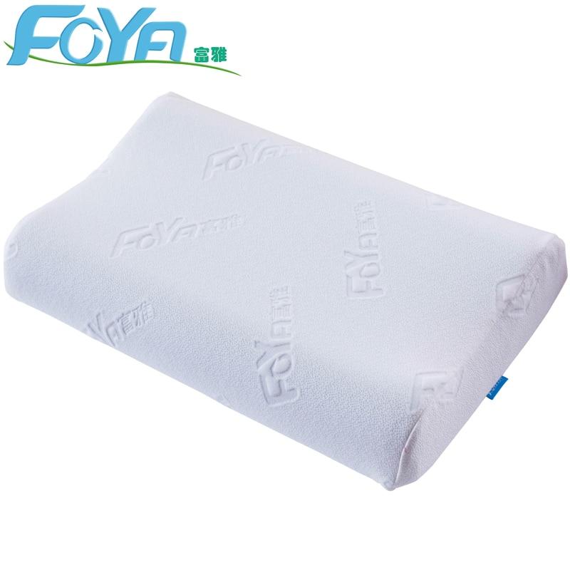 FOYA memory cotton pillow orthopedic pillow fiber pillow slow rebound neck soft massage cervical vertebra-in Body Pillows from Home & Garden
