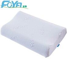 FOYA pamięci bawełna poduszka poduszka ortopedyczna poduszka z włókna powolne odbicie neck miękkie masaż szyjki macicy kręgu