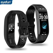 Eyefun smart watch es smartband דם לחץ smart watch דם לחץ חמצן קצב לב smart watch es אנדרואיד שעון 0.96 ips