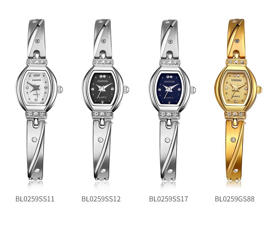 Starking nova marca de luxo relógio feminino