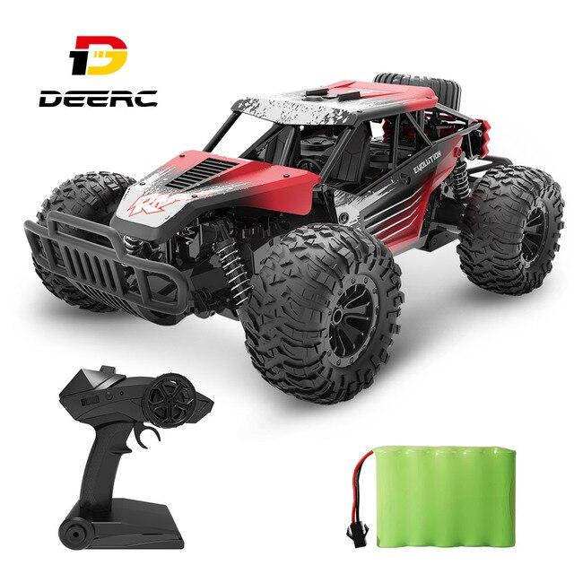 DEERC DE37 1:16 RC Car All Terrains Off Road Buggy Truck 30 Mins Play Time 20 KM/H High Speed RC Dift Car Toys For Children