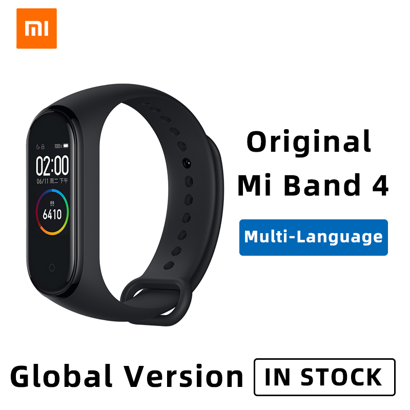 Xiaomi Mi Band 4 Smart Bracelet 3 Color AMOLED Screen Miband 4 Smartband Bluetooth Sport Waterproof Heart Rate Fitness watch