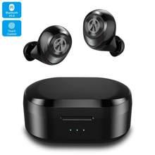 X20 redução de ruído portátil bluetooth v5.0 fones de ouvido, hd estéreo sem fio fones de ouvido, cancelamento de ruído jogos fone de ouvido
