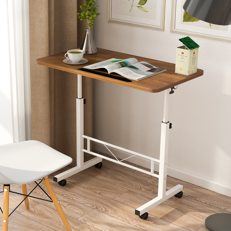 Factory Tmall Signature Wholesale Simplicity Laptop Table Removable Computer Table Floor Shelf Adjustable Bedside Table