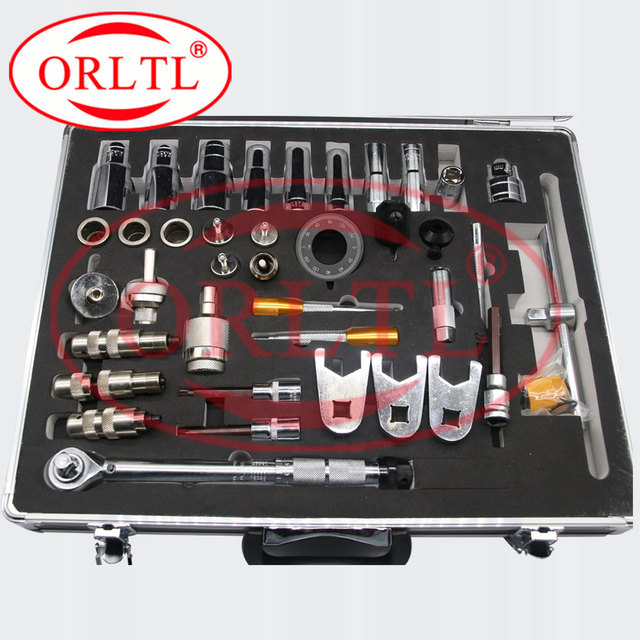 ORLTL Upgraded version Disassemble Tools  Diesel Fuel Injector Repair Equipment Nozzle Injection Common Rail Inyector Repair
