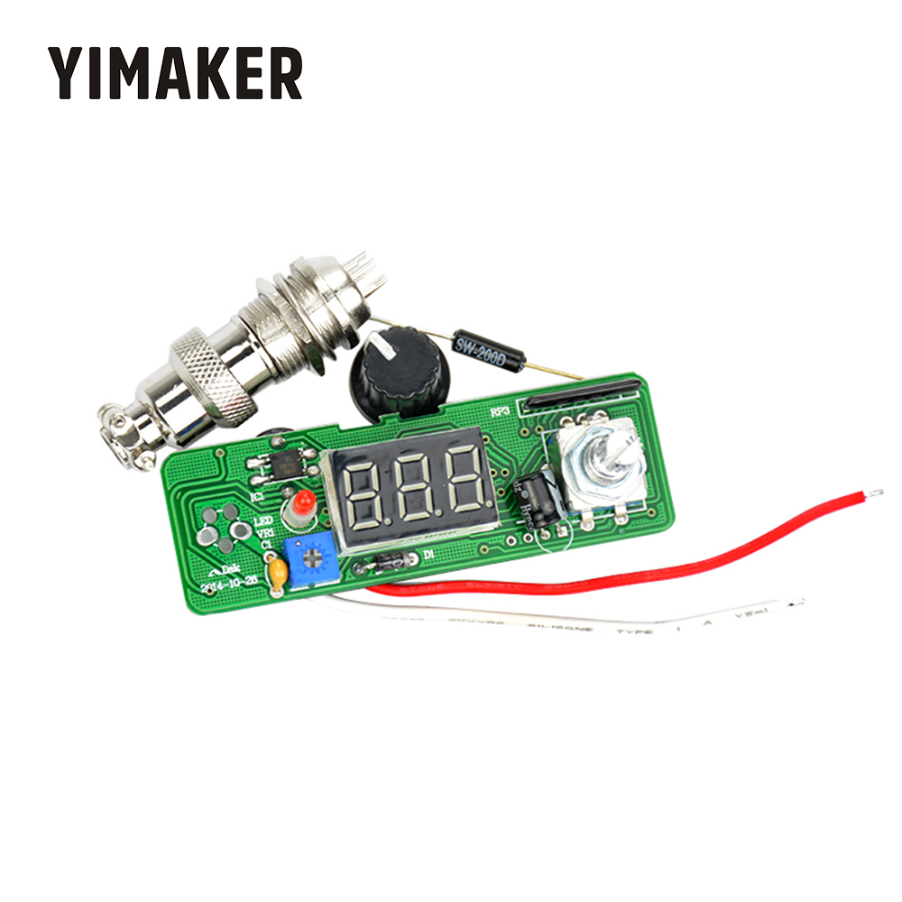 YIMAKER T12 Digital Soldering Iron Station Temperature Controller For T12 Heating Core