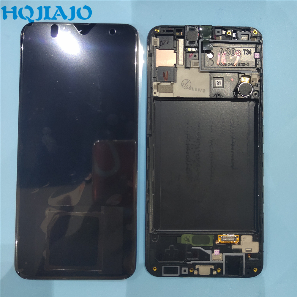 Original For <font><b>Samsung</b></font> Galaxy <font><b>A30S</b></font> <font><b>LCD</b></font> Display With Touch Screen Digitizer Assembly Replacement for SAM-A307F/DS A307 <font><b>LCD</b></font> image