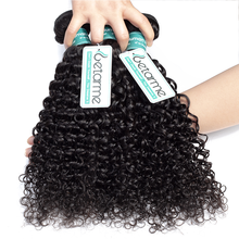 28 30Inches Brazilian Water Hair Weaving Deep Curly Hair Bundles Natural Human Hair Double Wefts 1 3 4 Bundles Thick Remy Hair
