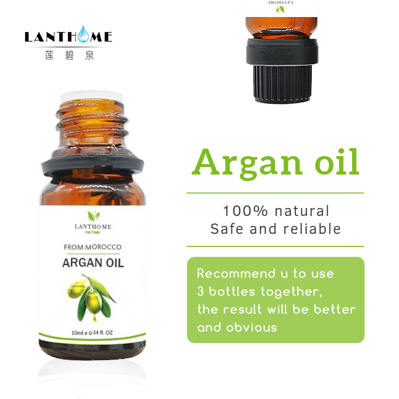 Morocco hair serum for damaged hair argan oil for hair scalp treatment split ends repaired conditioner moisturizer hair mask 10g image