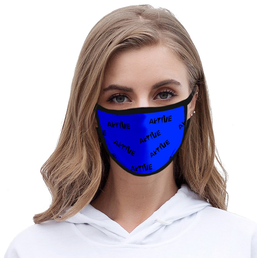 Mask Unisex Outdoor Fashion Ice Silk Fabric Printing Windproof Dustproof Anti-spray Washable Reusable Adult Protective Mask Jun8