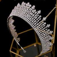 Asnora nuovo корона, corona, tiara, диадема, accessori per capelli da sposa di lusso, ha esteso la corona accessori per capelli A00616