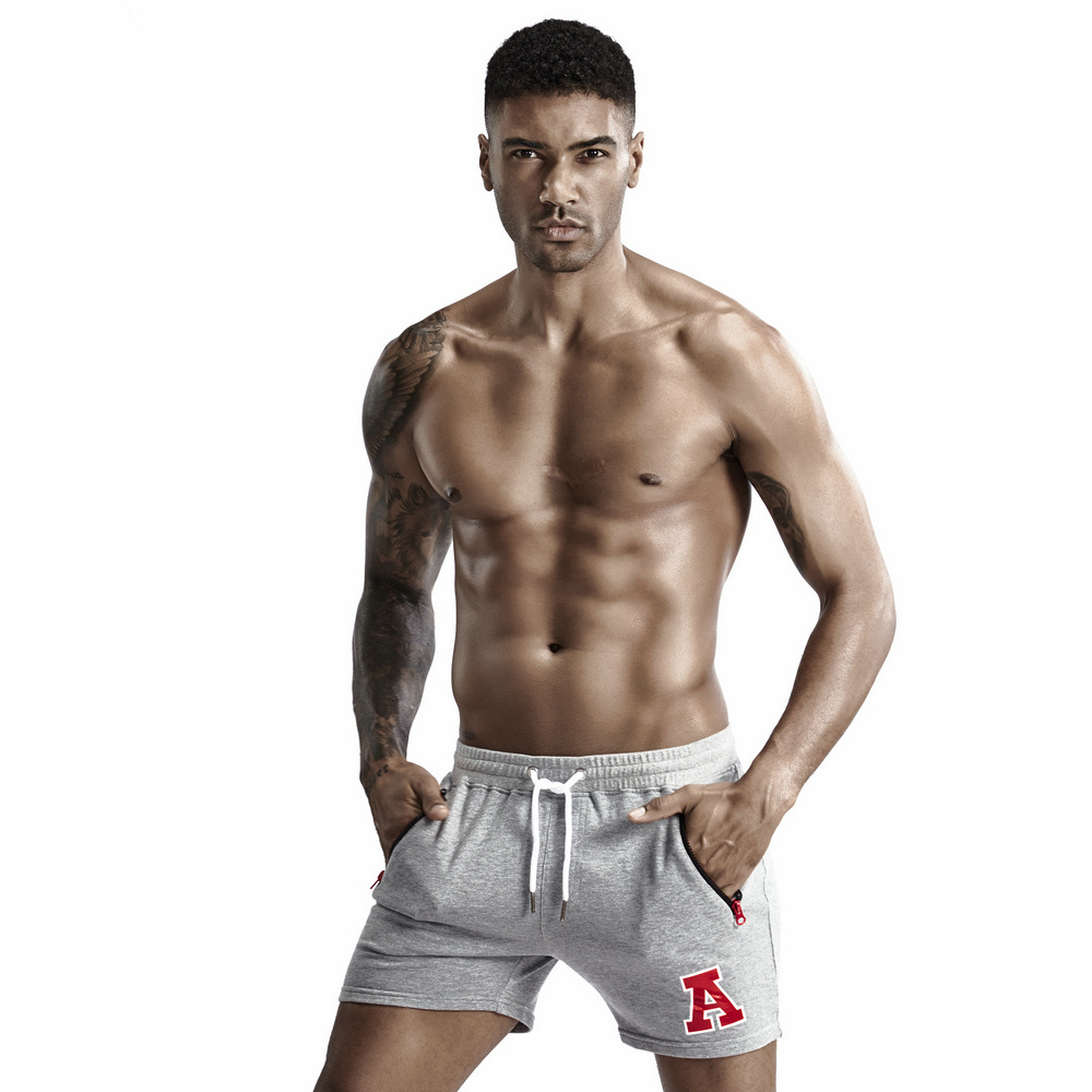 Summer Men's 100% Cotton Shorts Solid Sweat Shorts For Men Casual Sports Gym Shorts Men