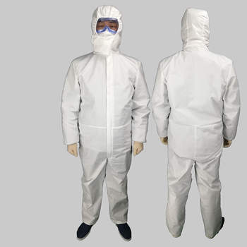 Covid 19 Virus protection suit disposable protective clothing Antibacterial Anti-Viruses Chemical Protective