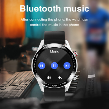 E1-2 Smart Watch Men Bluetooth Call Custom Dial Full Touch Screen Waterproof Smartwatch For Android IOS Sports Fitness Tracker 3