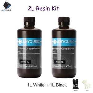 Image 1 - ANYCUBIC 405nm UV Resin Printing Material For 3D Printer Photon Photon S LCD UV Sensitive Liquid Photosensitive Resin