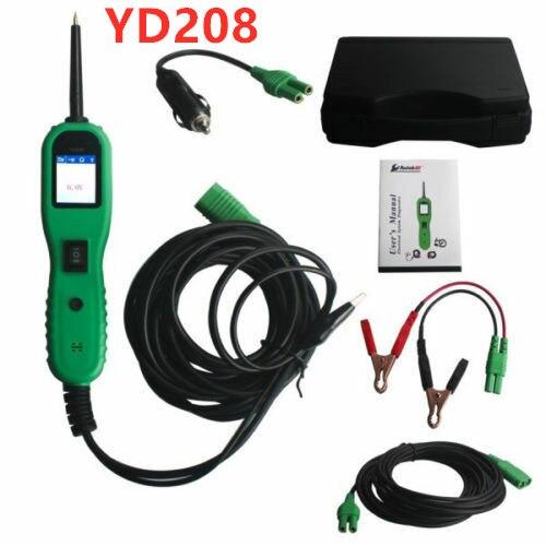 Haute qualité YD208 sonde de tension Test de tension Scanner Test de puissance PT150 YD 208 voiture Circuit électrique système outil de Diagnostic 12V