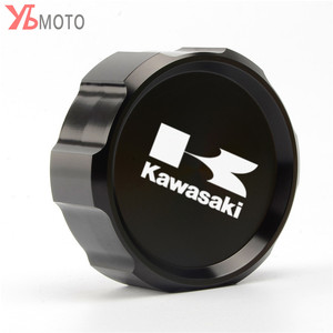 Image 3 - Tapa de cubierta de depósito de líquido de frenos delantero CNC para motocicleta Kawasaki Z1000SX Ninja 1000 ZX10R ZX9R ZX6R ZX250R Z750S Z750 GTR1400