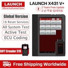 Launch X431 V Plus автомобильный диагностический сканер, автоматический диагностический инструмент, полная система диагностики, сканер автомобильной PK X 431 Pro 3 V 8