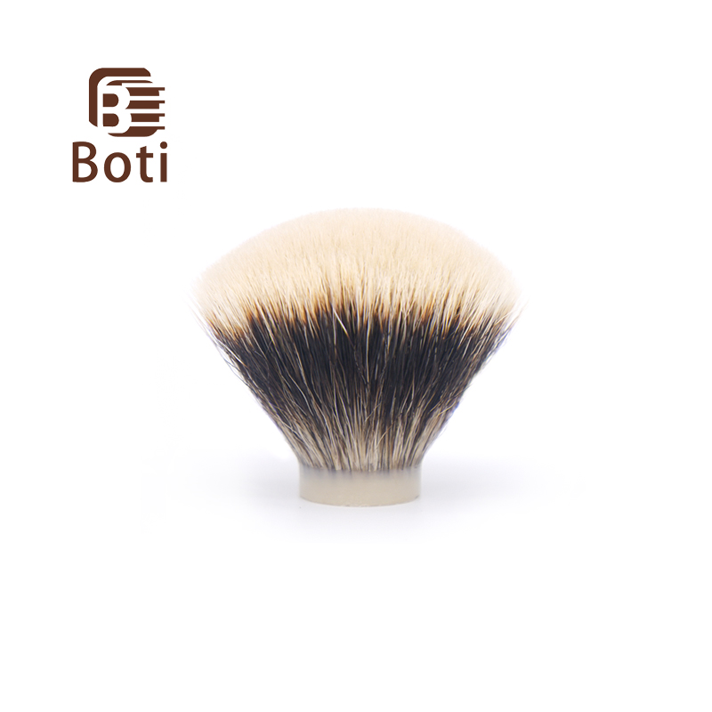 Boti Brush-NC Chubby Badger Hair Knot North China  Finest Two Band Badger Hair Knot Fan Shape Shaving Brush Beard Knot