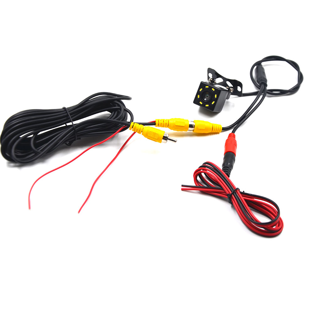 lowest price BYNCG Car Rear View Camera 8LED Night Vision Waterproof  Universal Backup Parking Camera  170 Wide Angle HD Color Image