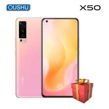 Vivo X50 Dual-Mode 5G 48MP Quad tylna kamera 8GB 128GB 20x Zoom Celular NFC Snapdragon 765G 6.56 ''pełny ekran 4200mAh Smartphone