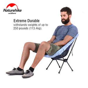 Image 2 - Naturehike Lightweight Portable Outdoor Compact Folding Picnic Chair Fold Up Fishing Beach Chair Foldable Camping Chair Seat