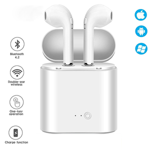 I7s TWS Earbuds 5.0 Bluetooth Earphones Wireless headset With Mic for iPhone 11 Pro Max XS 8 7 6 6S All Andriod Phone