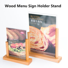 a5 acrylic sign holders…