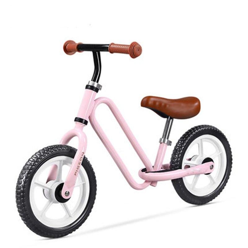 12 pouces deux roues en métal enfants Balance vélo nouveau produit de haute qualité sans pédale glisser Walker sens pour les enfants monter sur des jouets