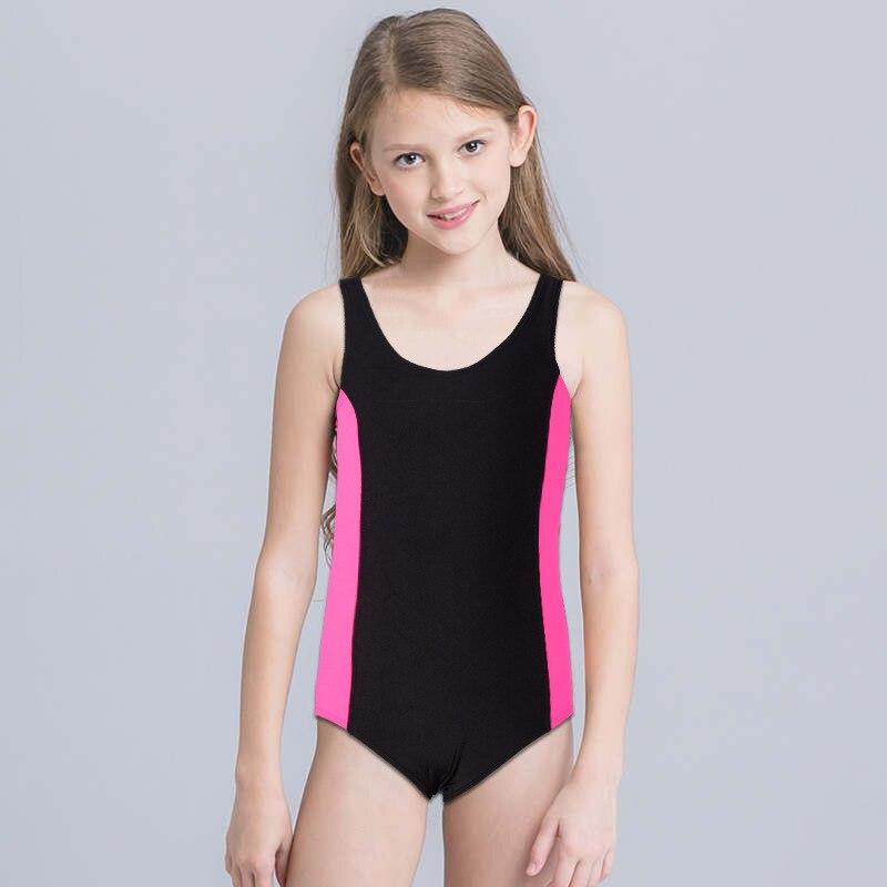 Sports One-piece KID'S Swimwear Foreign Trade Export Profession Training Students Set AliExpress Amazon Hot Sales Swimwear