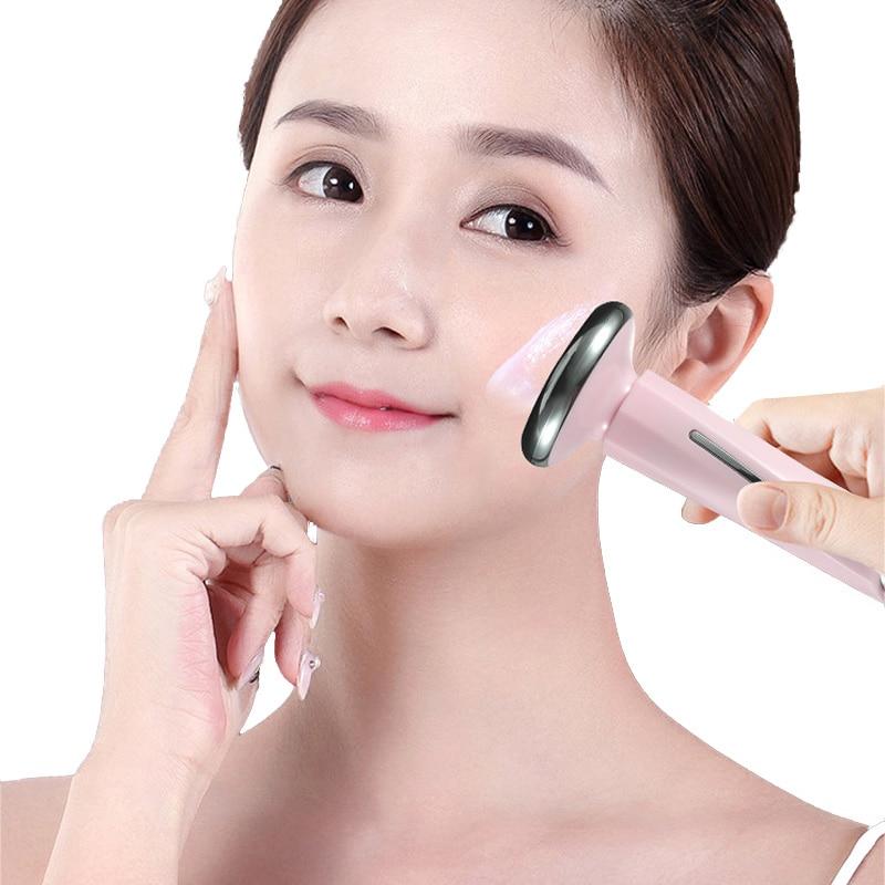 Импортный инструмент магнитный для красоты лица маленький гироскоп введение инструмент ионный массаж глаз маленькая гантель импортный