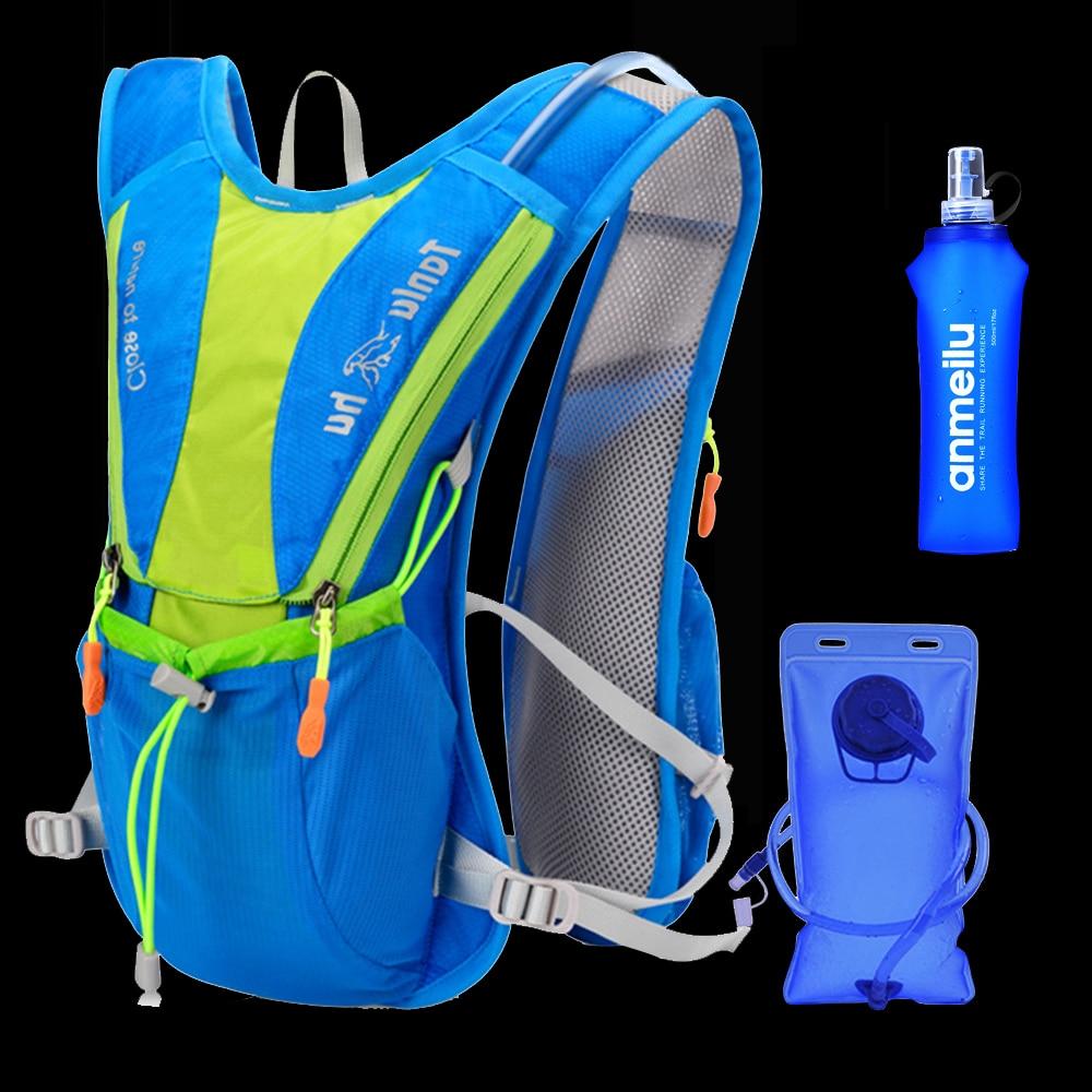 10L Women Men Bag Marathon Hydration Vest Pack For 2L Water Bag Cycling Hiking Bag Outdoor Sport Running Backpack