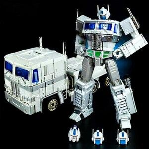 Image 5 - Dönüşüm KBB MP10V MP 10V OP komutanı G1 alaşım koleksiyonu Voyager kamyon modu Anime aksiyon figürü Robot çocuk oyuncak araba modu