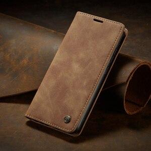 Роскошный флип-чехол для Xiaomi Mi 9 9T Redmi K20 Note 8 Pro, чехол из натуральной кожи с бумажником и держателем для карт, чехол для телефона