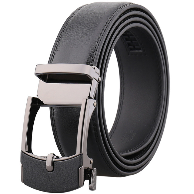 new Luxury Brand Famous Designer Belts Automatic Buckle for 3.5cm Leather Belt high quality men fashion gifts for men LY125-0104
